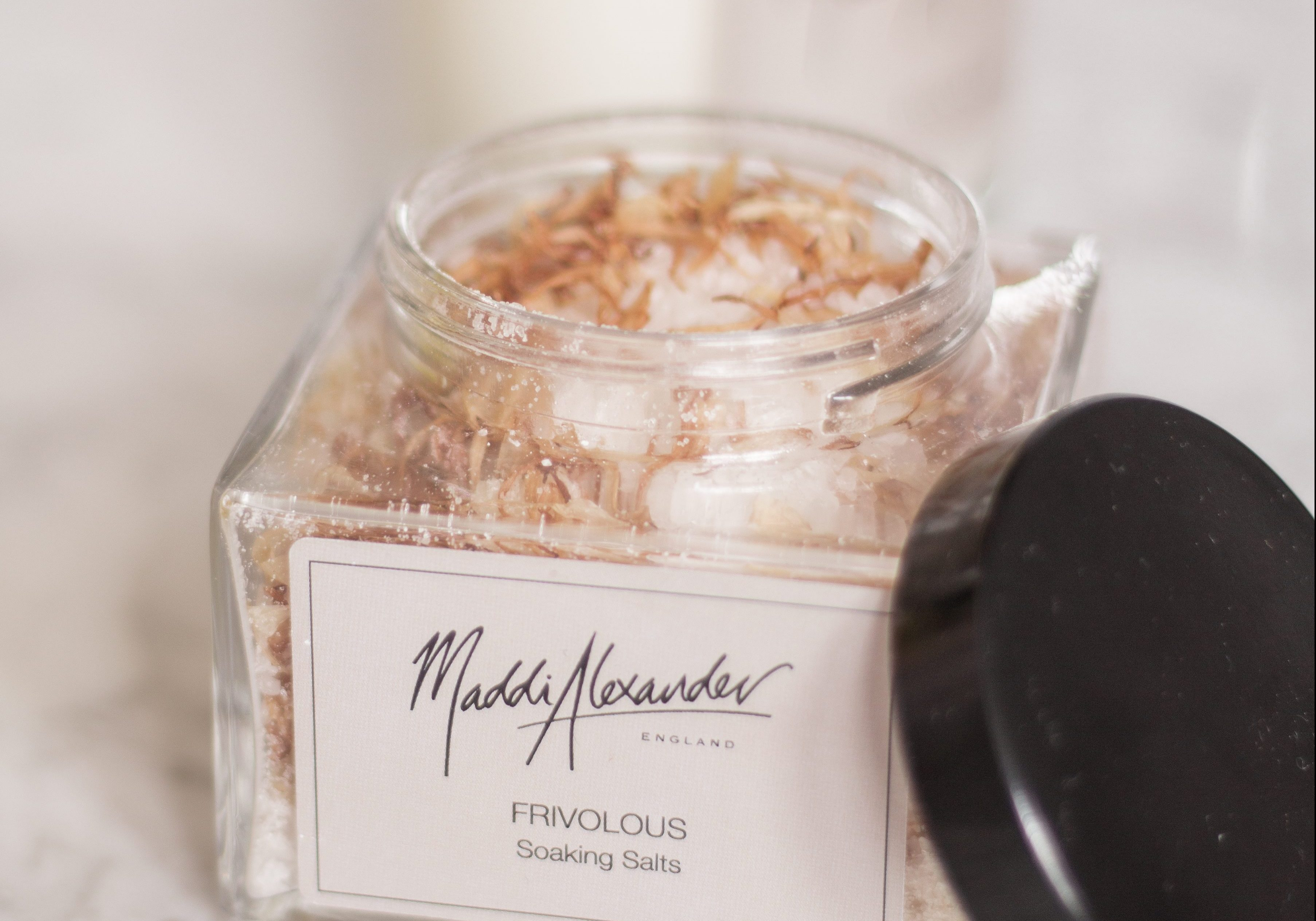 Maddi Alexander Frivolous Soaking Salts Mothers Day Gift Ideas